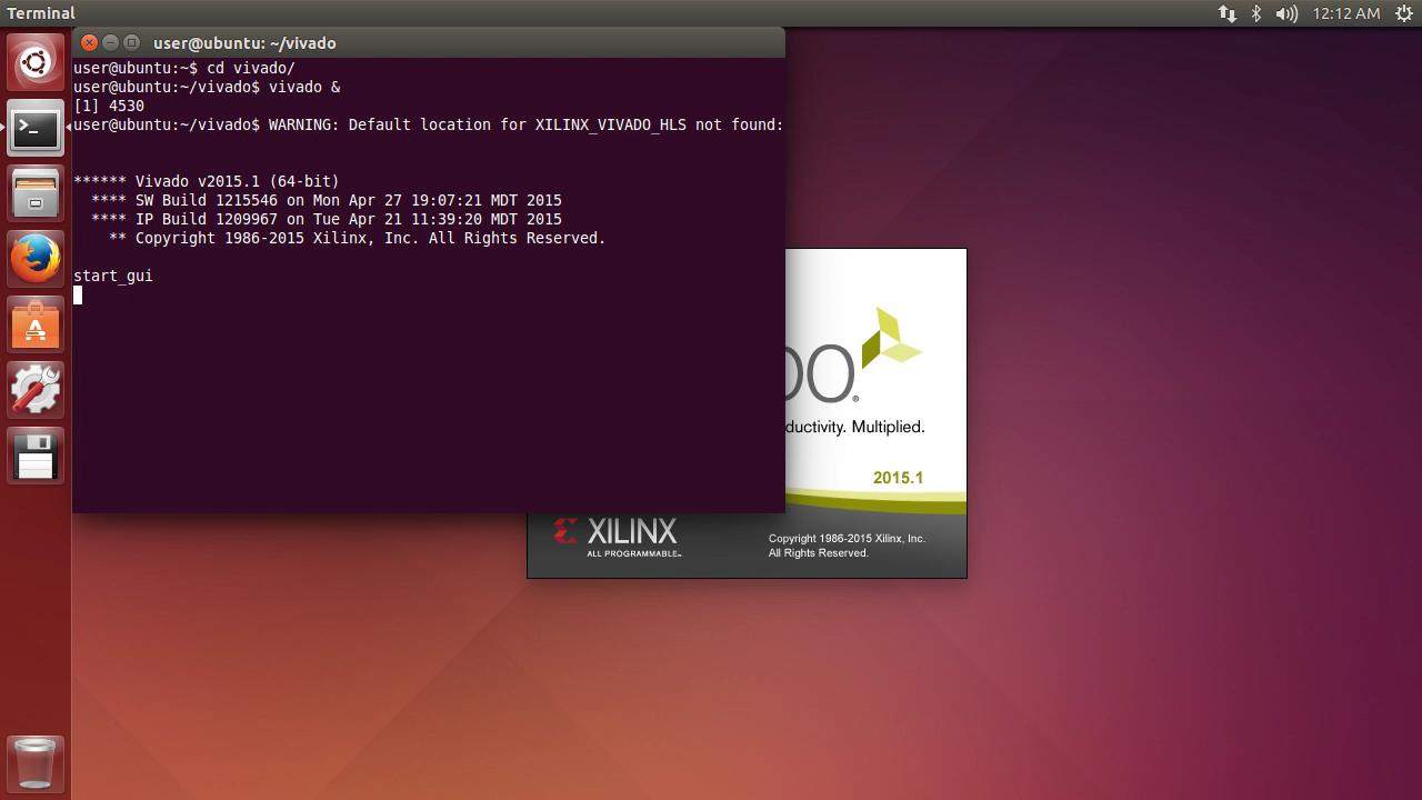 Running Vivado on Linux (Ubuntu)